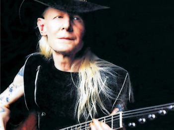 Johnny Winter + Garron Frith + Mitch Laddie picture