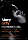 Flyer thumbnail for Talking Book: Macy Gray
