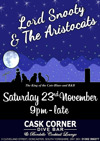 Flyer thumbnail for Lord Snooty & The Aristocrats + James Taplin