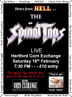 Flyer thumbnail for Tap Into Hertford!!: The Spinal Taps