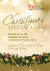 Flyer thumbnail for Christmas Spectacular: The Bristol Ensemble, Exultate Singers