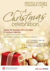 Flyer thumbnail for A Christmas Celebration: Bristol Schools' Chamber Choir