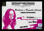 Flyer thumbnail for Jelli Records London Showcase: Bashema + Danielle Celeste