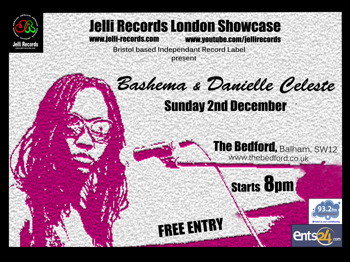Jelli Records London Showcase: Bashema + Danielle Celeste picture