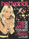 Flyer thumbnail for Hed Kandi The Mix 2013 - Official Album Launch: Dean Oram + John Jones + Carl Hanaghan + DJ John Jones
