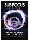 Flyer thumbnail for Sub Focus + Gemini + Breakage + Metrik + Monsta