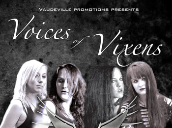 Voices Of Vixens: Training Icarus + The Mariana Hollow + Orpheum + Control The Storm picture