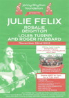 Flyer thumbnail for Julie Felix + Rosalie Deighton + Louis Turpin