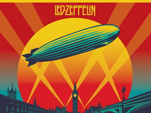 Film promo picture: Led Zeppelin: Celebration Day