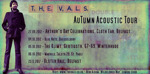 Flyer thumbnail for Acoustic Tour (Camra Festival): The Vals