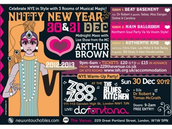 A Nutty NYE Weekender: The Crazy World of Arthur Brown picture