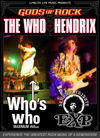 Flyer thumbnail for Gods Of Rock Who + Hendrix Trubute Show: Who's Who + EXP