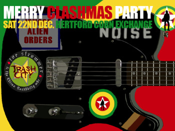 Merry Clashmas Party: Trailer Trash Orchestra + Los Ladrones De Amor + The Trash + Palm Tree Club + The Blissetts + The Stanlees + Kev Saunders + Lady D + Dan-Tan Train picture