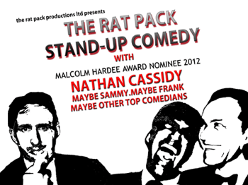 The Rat Pack Stand-up Comedy Xmas Show: Nathan Cassidy, Stephen Bailey, Alex Perry, Josiah Norris picture