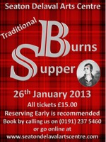 Flyer thumbnail for Traditional Burns Night