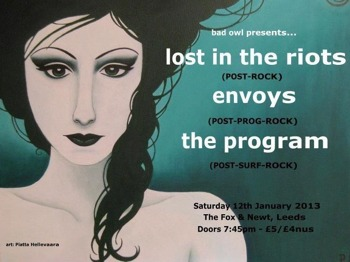 Lost In The Riots + The Program + Envoys picture