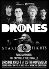 Flyer thumbnail for Stars and Flights + Drones + Oh Captive + The Thralls
