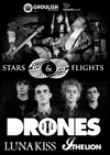 Flyer thumbnail for Luna Kiss + Stars and Flights + Drones + I The Lion