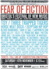 Flyer thumbnail for Fear Of Fiction Festival 2012