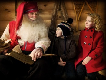 LaplandUK : Father Christmas picture