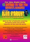 Flyer thumbnail for Charity Concert - Raising Money In Aid Of The National Autistic Society: Alvin Stardust