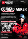 Flyer thumbnail for The North Face Speaker Series : Conrad Anker