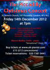 Flyer thumbnail for The Piccadilly Christmas Concert 2012- Gershwin Rhapsody In Blue: Warren Mailley-Smith