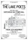 Flyer thumbnail for The Lake Poets & Friends, 'Rain' Single Launch: The Lake Poets + O'Messy Life + Crooked Hands