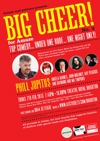 Flyer thumbnail for BIG CHEER for Amaze 3: Phill Jupitus, Angela Barnes, John Moloney, Ian Boldsworth as Ray Peacock, The Raymond And Mr Timpkins Revue