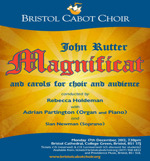 Flyer thumbnail for Christmas Concert: Bristol Cabot Choir, Adrian Partington