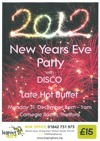 Flyer thumbnail for New Years Eve Party