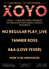 Flyer thumbnail for Wolf & Lamb Records Presents No Regular Play Album Launch: No Regular Play + Tanner Ross + A&A Love Fever