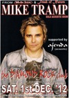 Flyer thumbnail for Mike Tramp Solo Acoustic Show: Mike Tramp + Ajenda