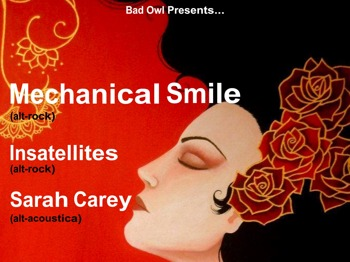 Mechanical Smile + Insatellites + Sarah Carey picture