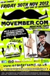 Flyer thumbnail for Aaa Movember Party: Mr B The Gentleman Rhymer + Professor Elemental