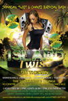 Flyer thumbnail for Island Twist Parties - Jamaican Twist: Theron