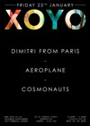 Flyer thumbnail for Dimitri From Paris + Aeroplane + No Artificial Colours + The Cosmonauts + Mausi + Martin Dubka