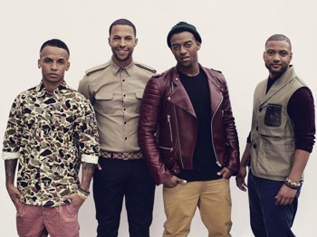 JLS and Friends: JLS + DJ Neev + James Arthur + Rylan Clark picture