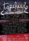 Flyer thumbnail for The House Of Hot Breath Presents: Tapeheads Vhs Charity Pub Quiz