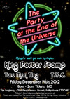 Flyer thumbnail for Party At The End Of The Universe: King Porter Stomp + Two Man Ting