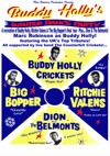 Flyer thumbnail for Buddy Holly's Winter Dance Party: Marc Robinson & The Counterfeit Crickets