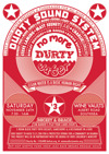 Flyer thumbnail for A Fundraiser For No More Durty Water Campaign: Durty Sound System