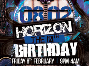 Horizon - The 10th Birthday Party                 : Angerfist + Outblast + Scott Brown + Joey Riot + Kurt + Big Worm + Soul Destroyer + EHD picture