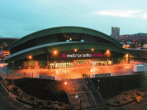 Metro Radio Arena artist photo