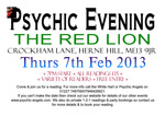 Flyer thumbnail for Psychic Angels Present: A Psychic Evening: Tracy Fance, Psychic Angels