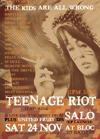 Flyer thumbnail for Teenage Riot: Salo