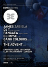 Flyer thumbnail for Lock N Load Events Present Born Electric: James Zabiela + DJ T + Pangaea + Glimpse + Gangcolours + The Advent
