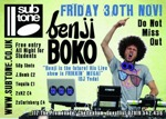 Flyer thumbnail for Fat N Funky: Benji Boko
