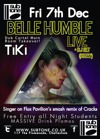 Flyer thumbnail for Dubcartel: Belle Humble