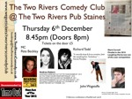 Flyer thumbnail for Two Rivers Comedy Club: Andrea Hubert, Richard Todd, Mark Cornell, Pete Beckley